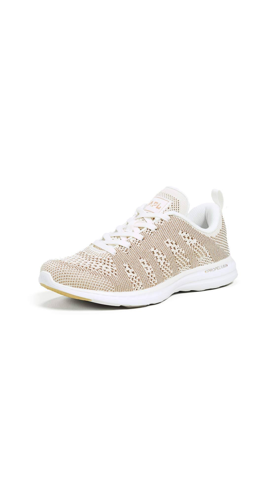 Labs Pro AplAthletic 9 Oro Bianco 5 Techloom IncoloreRosa Propulsion Sneakers YvgyImf6b7