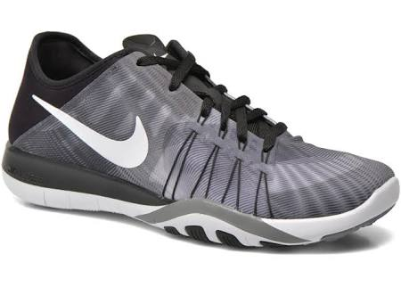 Fitnessschuhe Free grau Tr 6 Print Schwarz Nike Damen ZwHpq