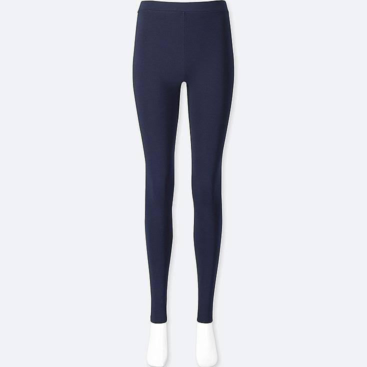 Térmicos Extra Marino Leggings M Mujer Uniqlo Azul Para O4qHwqp
