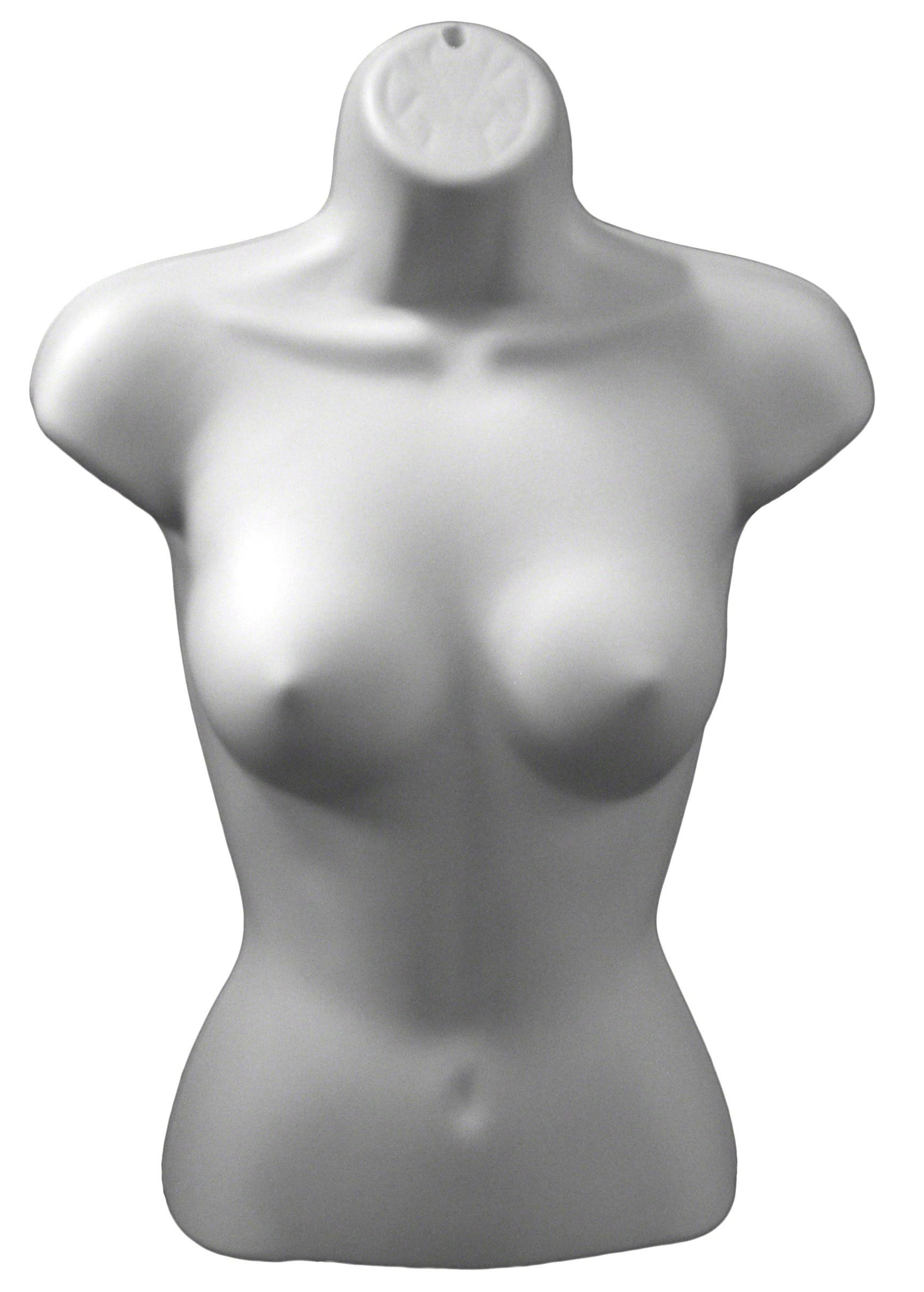 Blanco Torso Forma Plástico De Xs157w Maniquíes Femenino xaYpnqI