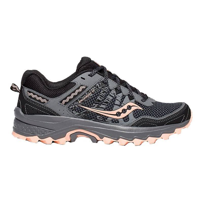 Shoes Grey Women's Trail Excursion Tr12 peach Running Saucony qPRgBFxSwg