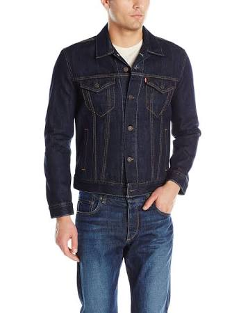 Men's Mens Trucker The Jacket Levi's Regular Xs Enjuague qZwIUyx4