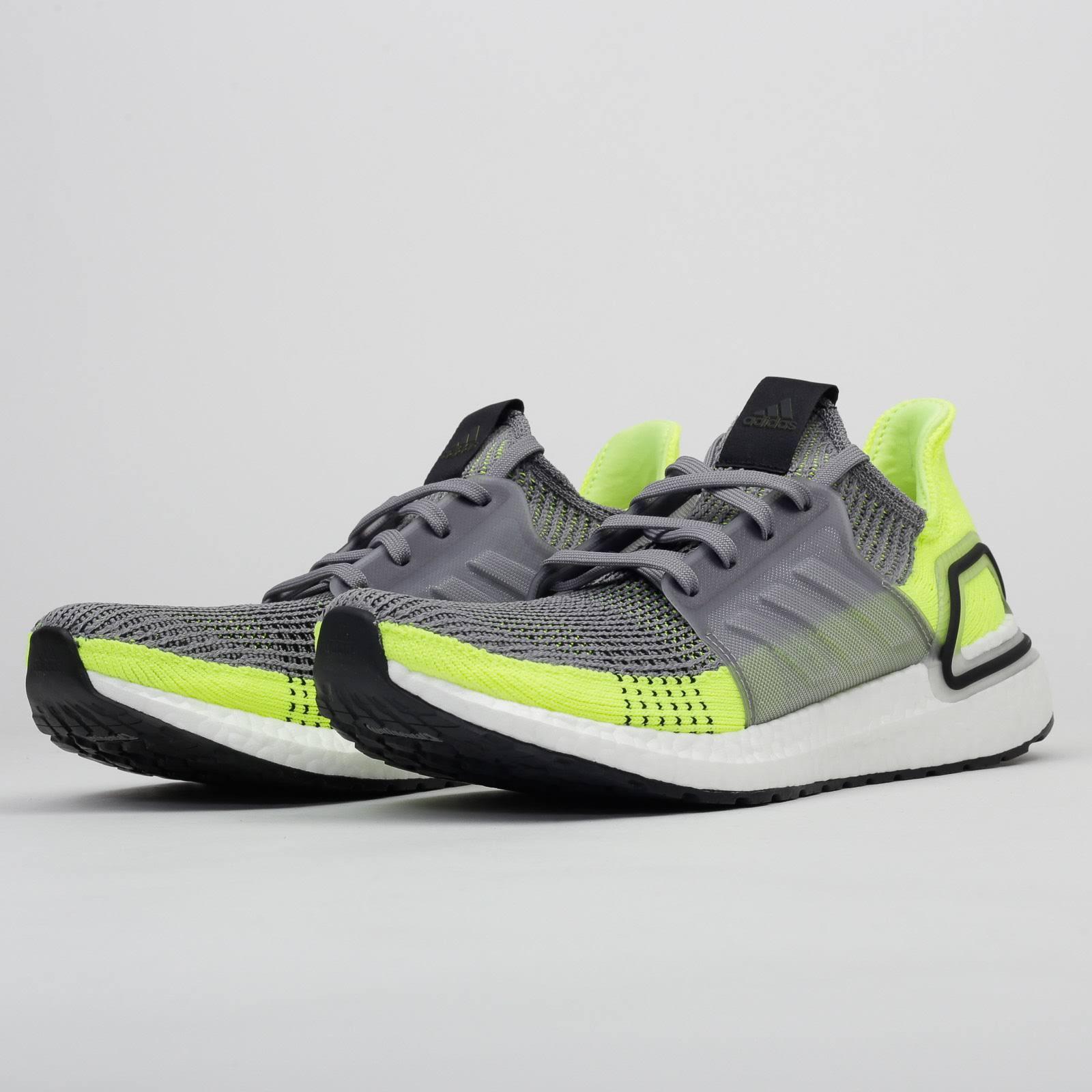 Sneakers adidas Performance UltraBoost 19 M grey / neonyellow / ftwwht