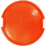 Orange Snow Saucer