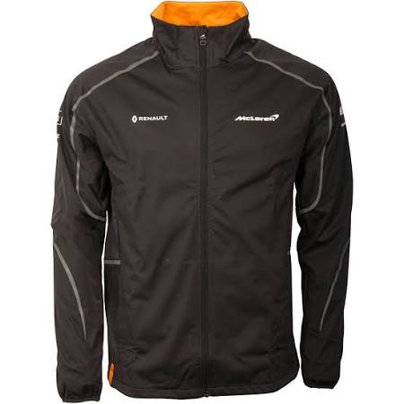 Jacket 1 Mclaren Formula Shell Negro Team Renault Soft 2018 xawqnC1wO
