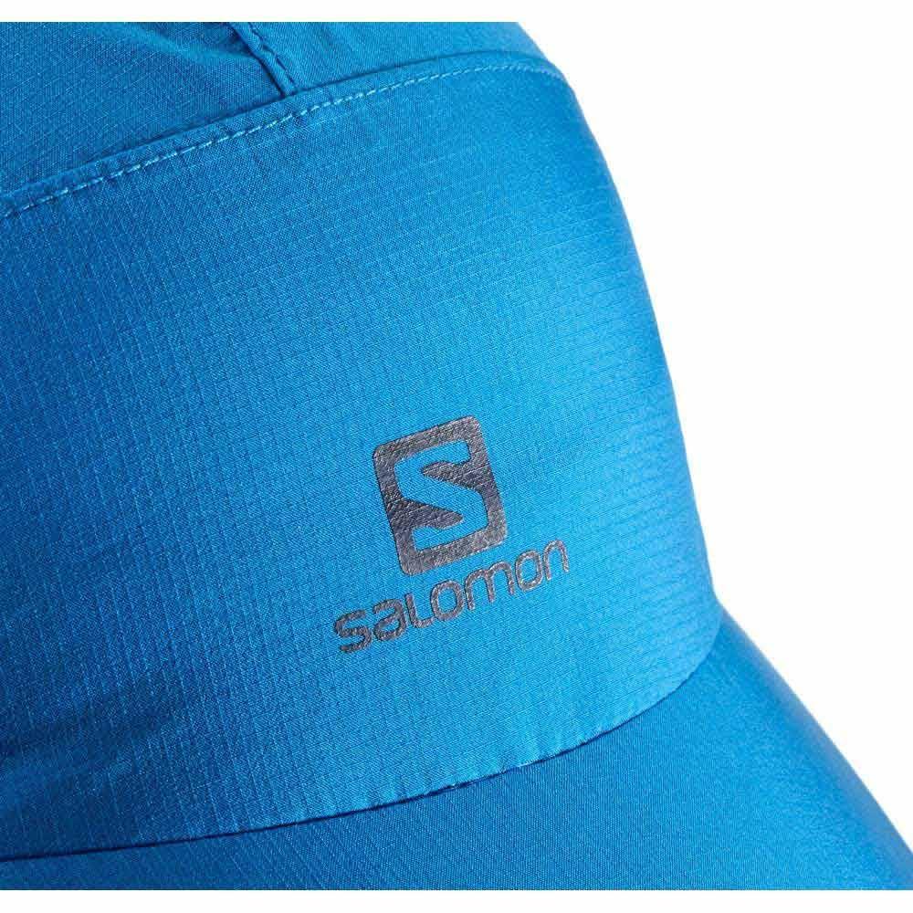 Daszkiem Blue Do Z Cap Waterproof Czapka Biegania Salomon wfT1qP