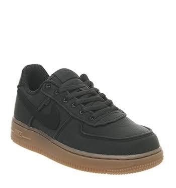 Children 1 Black Low Nike Air Force Kids qwxER8g