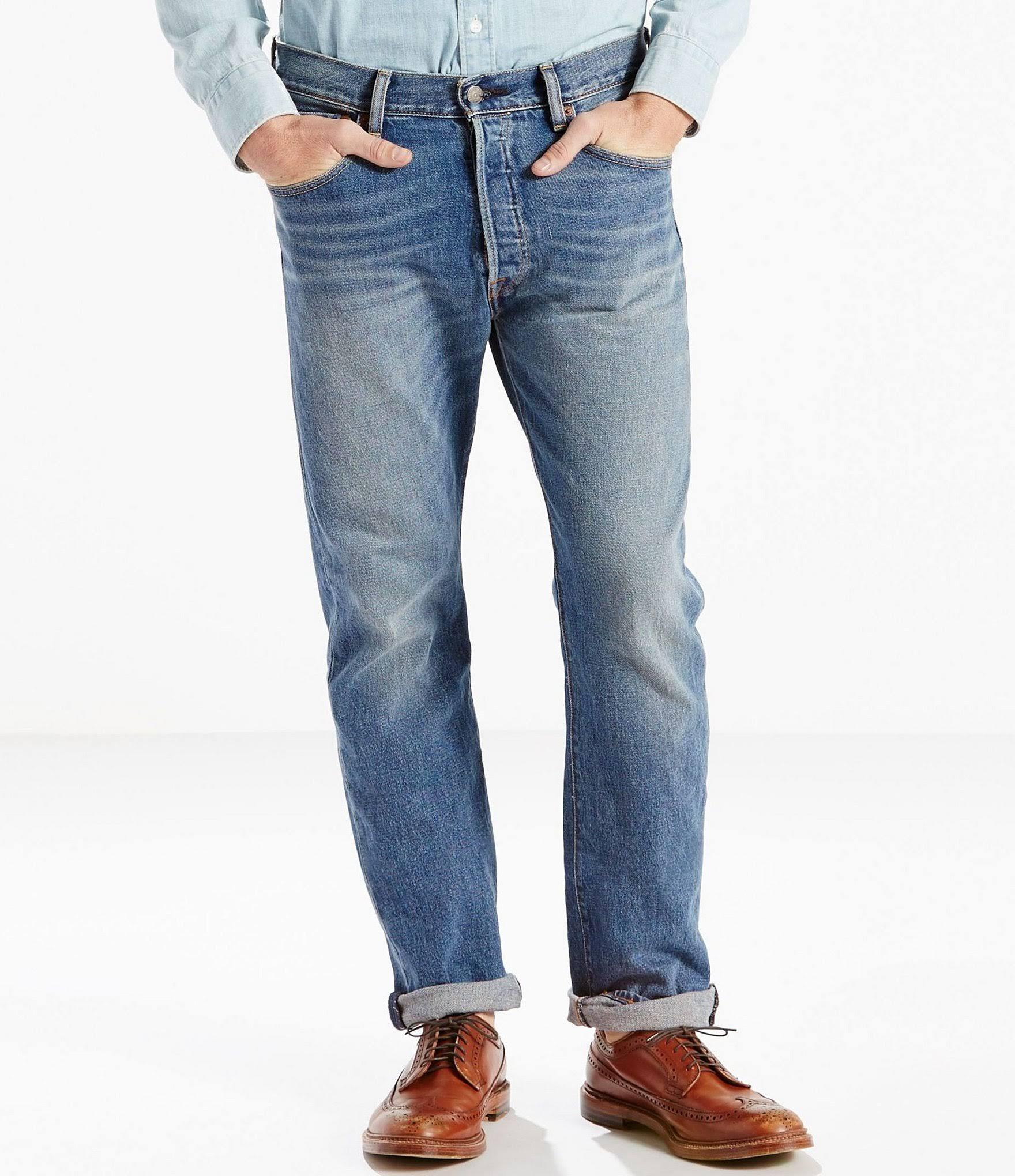 Fit The Levi's 31 Jeans 30 Original Stretch Ben 501 qvBwtfa