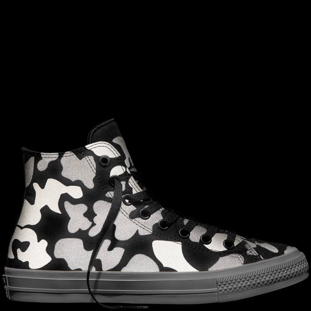 Ii Converse Blanco Taylor M587376 High Star Negro Charcoal Reflective Chuck All wpgpT6