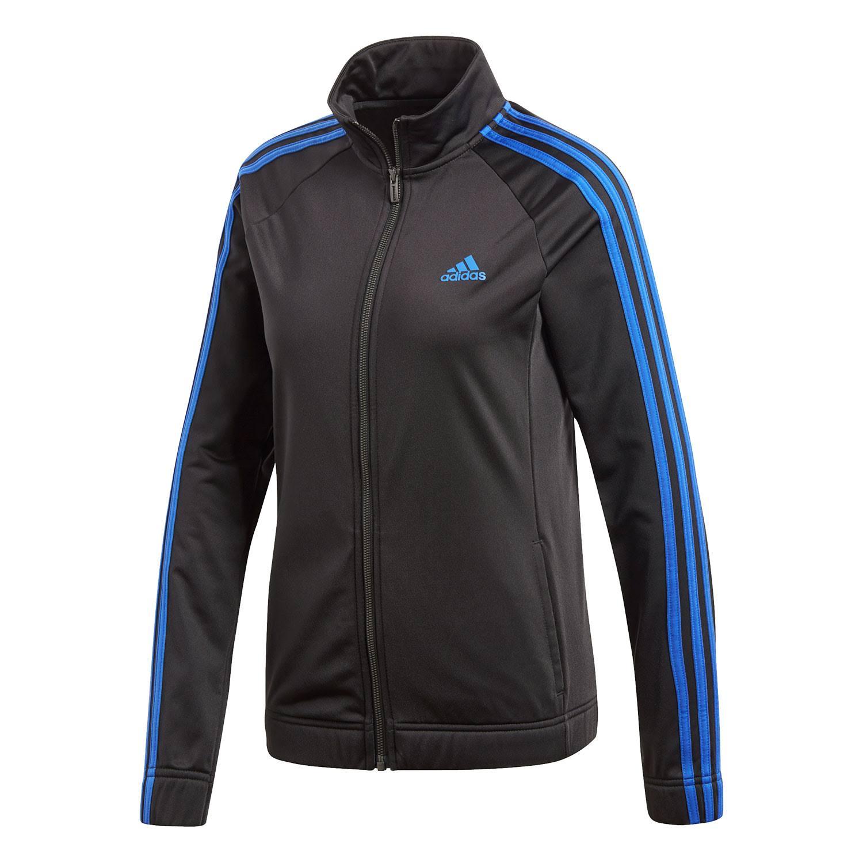 Para Track Negra Azul Adidas Move Designed Mujer Chaqueta 2 wxqSq7