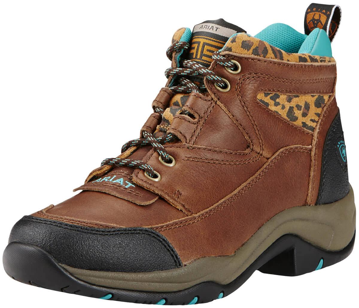 Terrain 10 Boots Women's cheetah B Ariat Medium Tundra Zxdvw7fUq