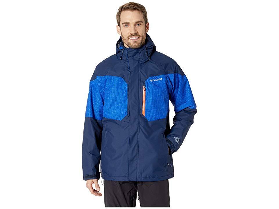 Jacket Print Navy S Coll Columbia Alpine Action Matrix Azul qwBxpZx1