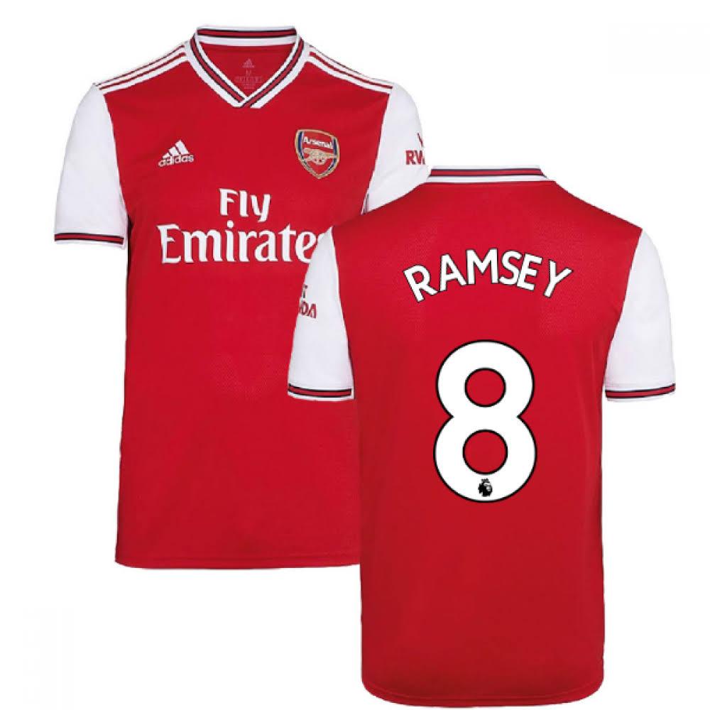 2019-2020 Arsenal Adidas Home Football Shirt (Ramsey 8)