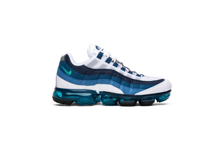 5 Blau französisch Vapormax Air Herren Nike Grün Laufschuhe 11 '95 Größe Weiß Neu FZ8wTaqx