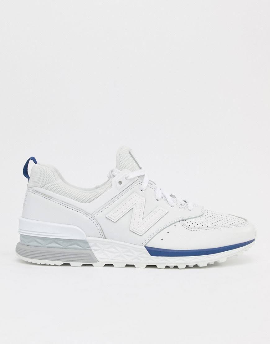 Uk 574 Sport Balance 11 45 Eu White Shoes 5 New size qUzZAZ