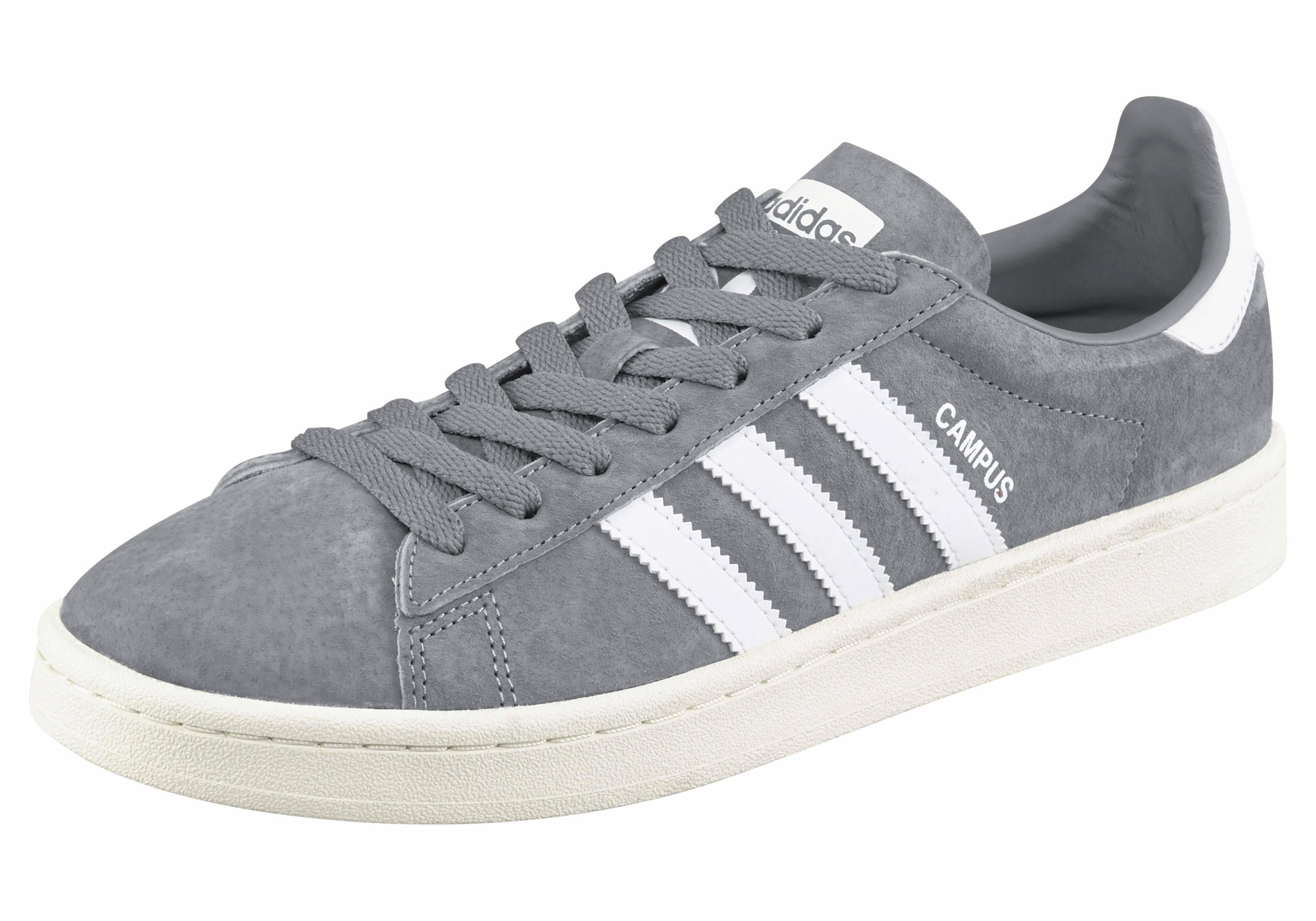 Grau Bz0085 In – Sneaker Grau Adidas Campus Weiß Originals XwZYOq5xA