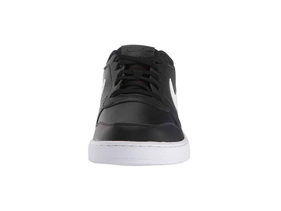 Nike Mens Sneakers Black white Shoes Ebernon rr7CwHxpq