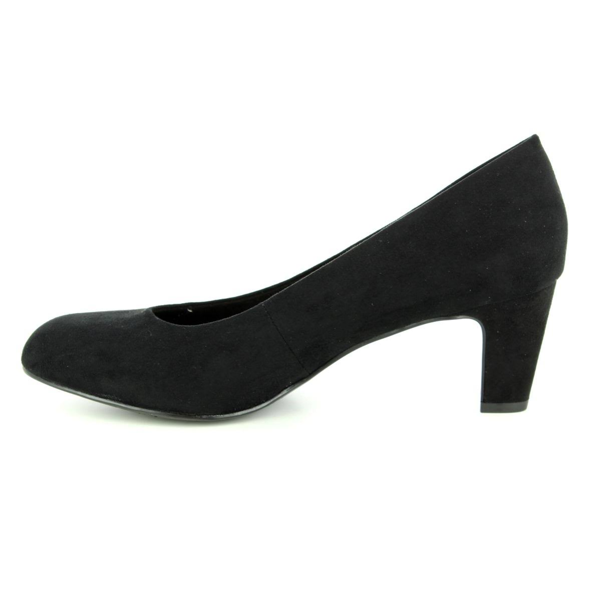 21 22418 85 Caxias Black Shoes Womens Heeled 001 Tamaris 5znWaIww