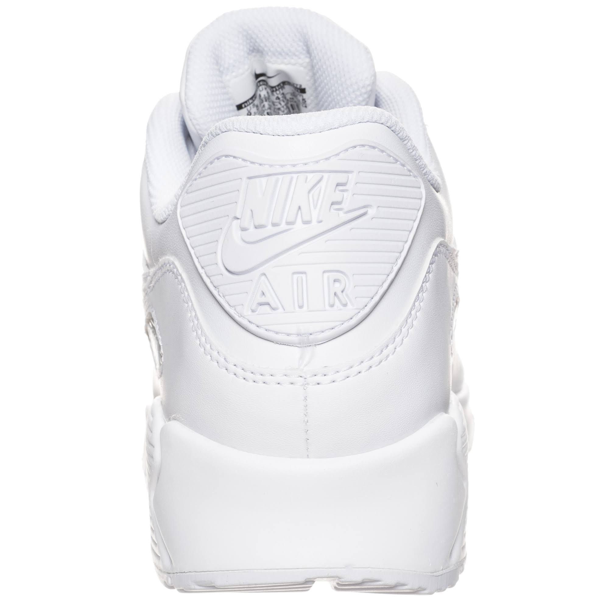 White white Herren Nike 5 Weiß Air Max Leather Gr 42 90 white XfxqgFT