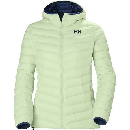 Verglas Damen Down Insulato Hooded Helly Wanderjacke Hansen Xs Grün W vE6AU