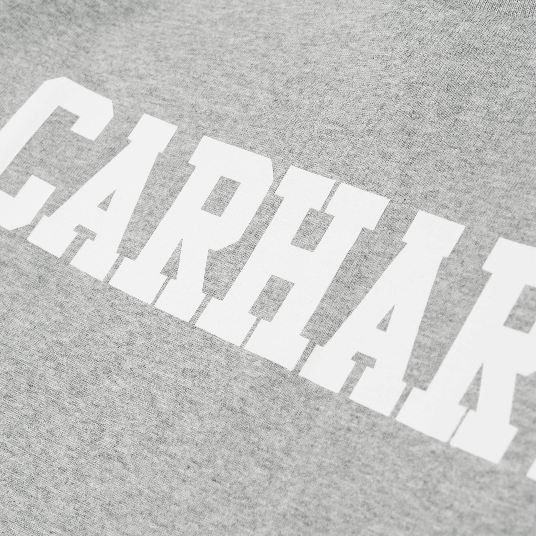 amp; t College shirt Carhartt Grau Langärmliges wqXnEB5F