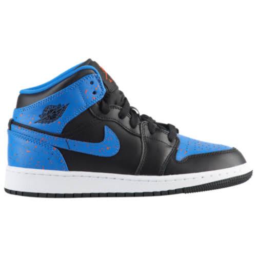 554725 Equipo Sz 1 Jordan Mid gs Azul señal 5 Negro Naranja 048 Air 3 n4qI1xHH