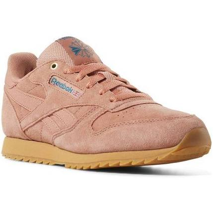 teal Running gum Size In Dirty Shoes 4 Apricot Unisex Ripple Grade School Reebok Classic Leather Gum Retro Apricot BacCO