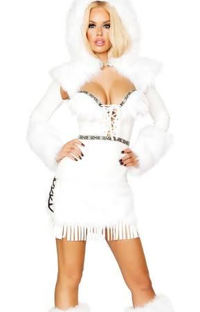 De Disfraz De Belleza Disfraz De Belleza Belleza Esquimal Disfraz Esquimal Xt0nwq