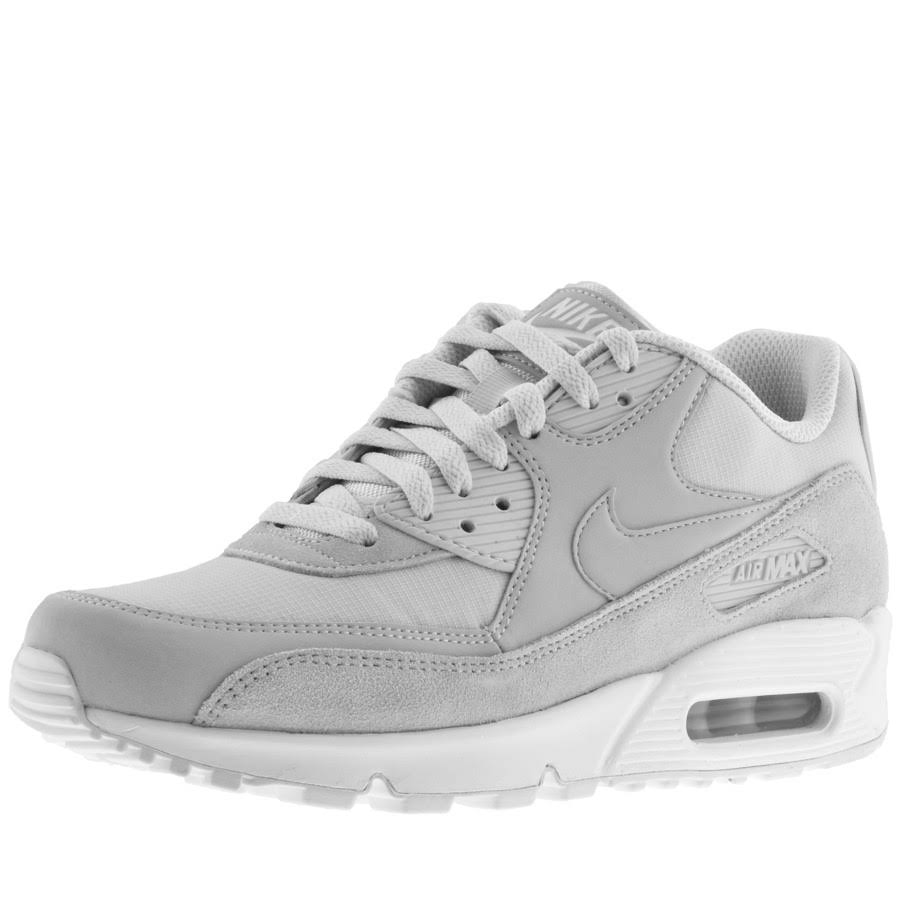90 Platinum Para plateado Pure Calzado Talla Blanco Nike 7 Essential Max 5 Hombre Air XxqwZ7
