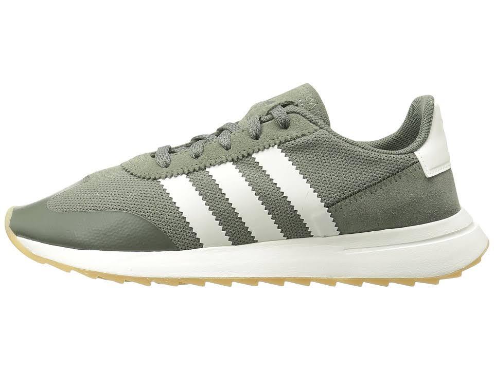 6 Weiß By9303 Flb Adidas Women's Dunkelgrün Sz 5 W x0OwH