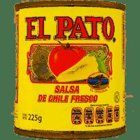 Salsa de chile fresco El Pato 225 g