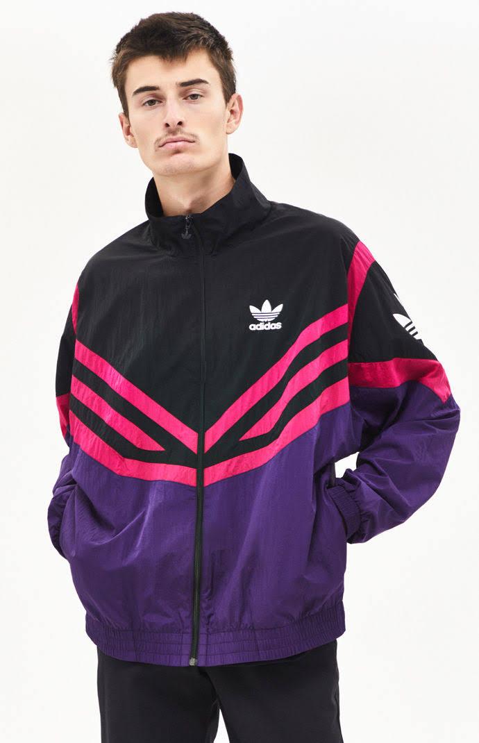 Lila Jacket Adidas Originals Schwarz Blau Sportivo Größe Herren Med Track 4zBwqxI1z