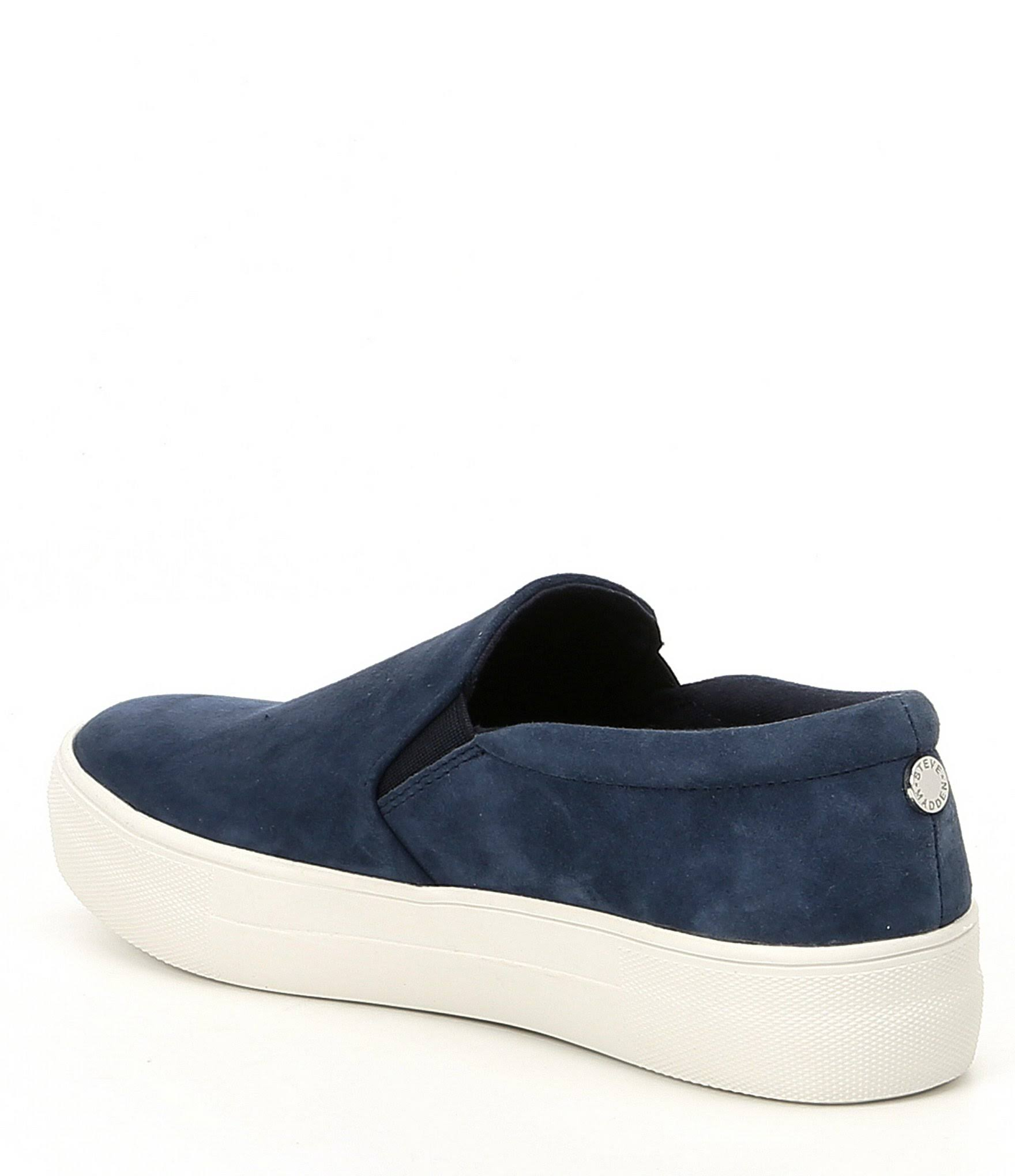 Navy 5 Suede Para Sneaker Mujer 8 Zapatillas M Madden Gills Steve wO1xRTq7