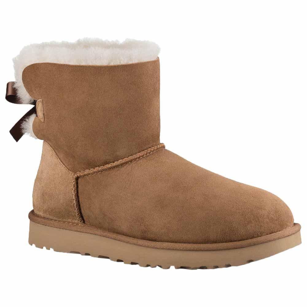 Mini Ii Ugg Boots Bow Bailey Brown Mid 6twt1dcrq