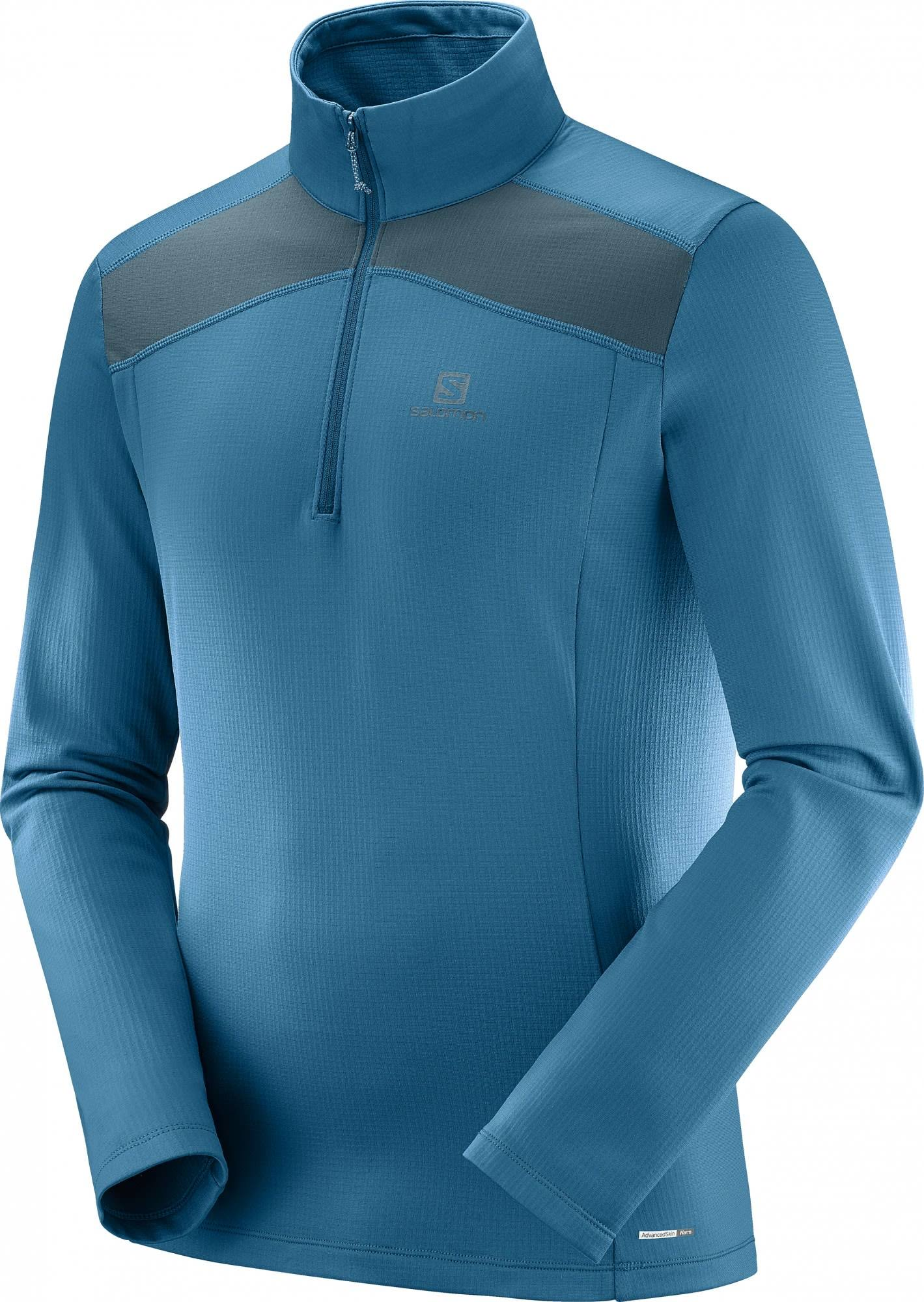 amp; Blue Mens Color Powerstretch Hz Lt Salomon Pound Pound Pullover Fleece Discovery Reflecting size Maroccon Blue S xI4YFwqt
