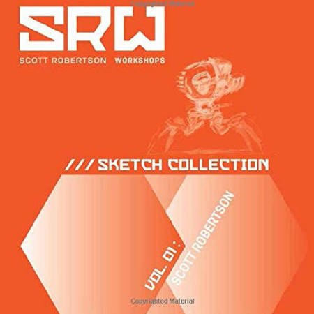 Vol Sketch Collection 01 Srw Scott Robertson PE8q6w