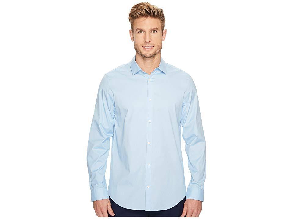 Cooles Mit Knöpfen Calvin Blue Oxford hemd Klein Xs Langärmliges Bell Herrenbekleidung Unendliches rxtUwq0UY