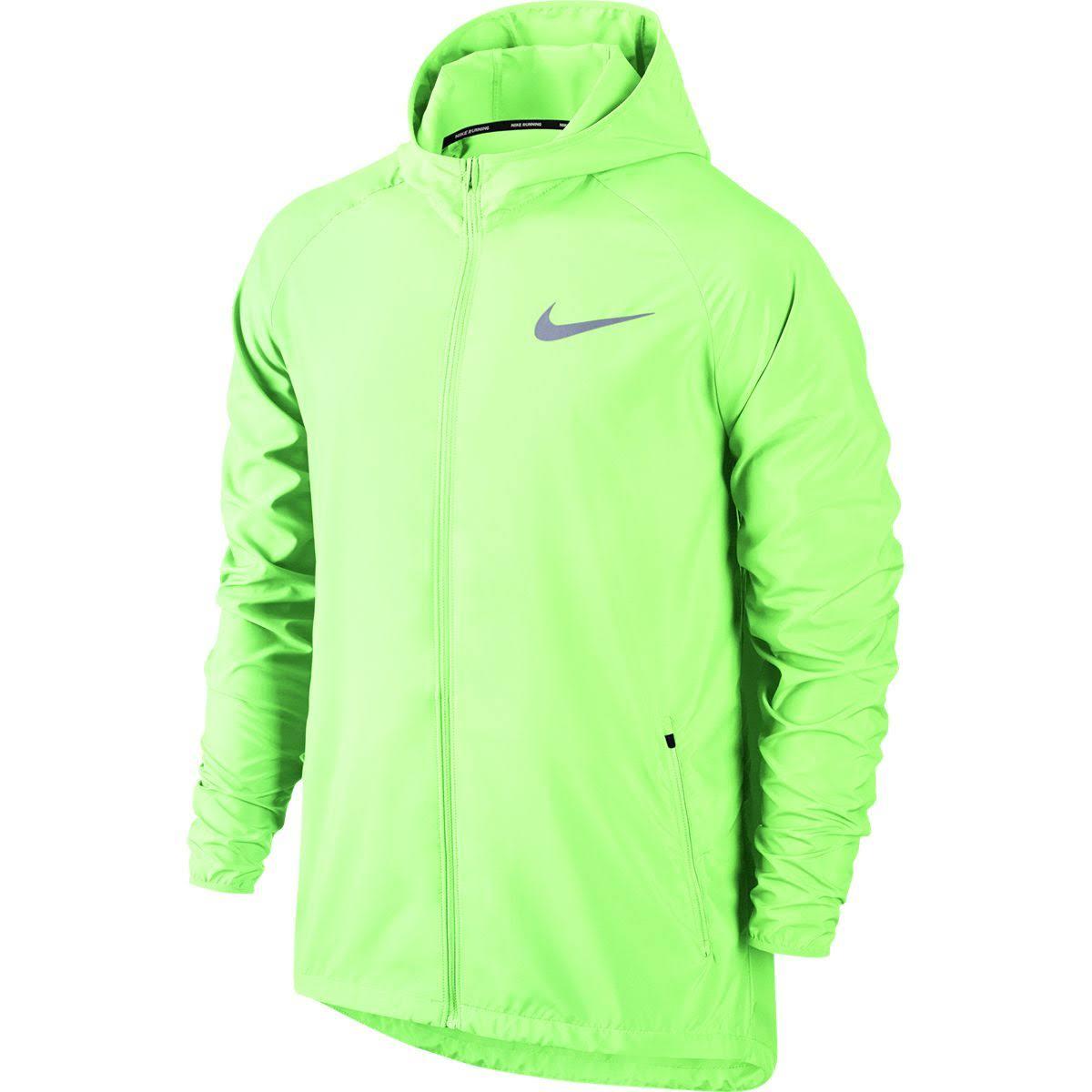 Kapuze Gelb Laufjacke Essential M Volt Mit Wasserdichte Nike Bare Männer FCwqTT