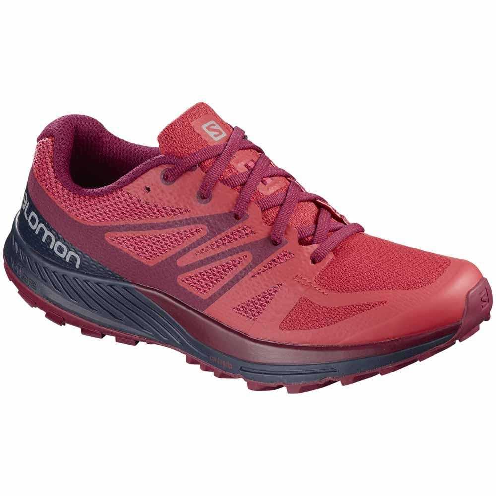 Salomon Women Shoes pink Red Sense Orange 38 Running Escape 7qrv4xw7A