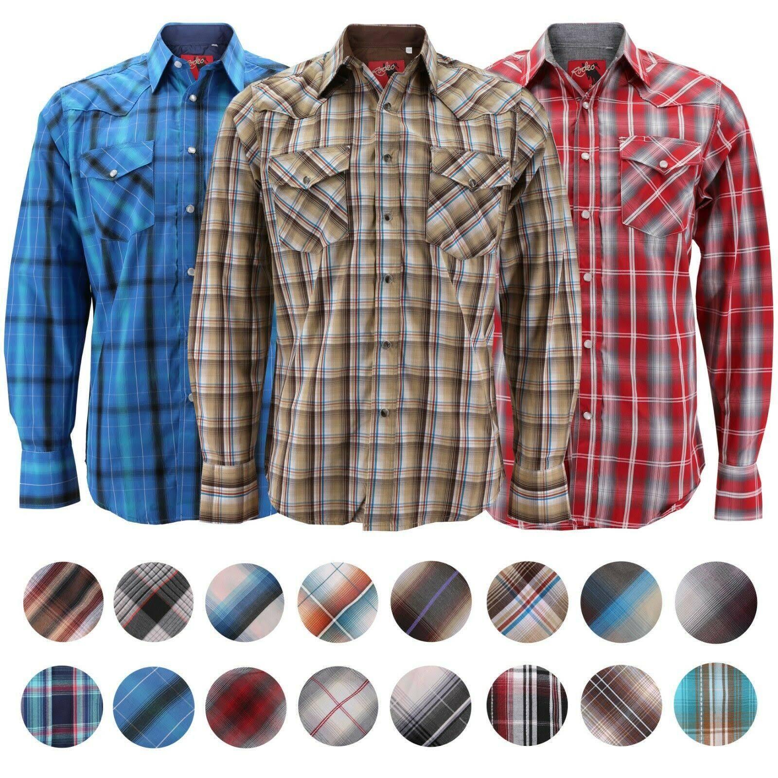 Cowboy Rodeo A Poliéster 40 De Clothing 60 Ps504 Burdeos Cuadros Presión Con Western Cierre Pearl Algodón Para Hombre Manga Larga Camisa Xl wwpOxAEnr4