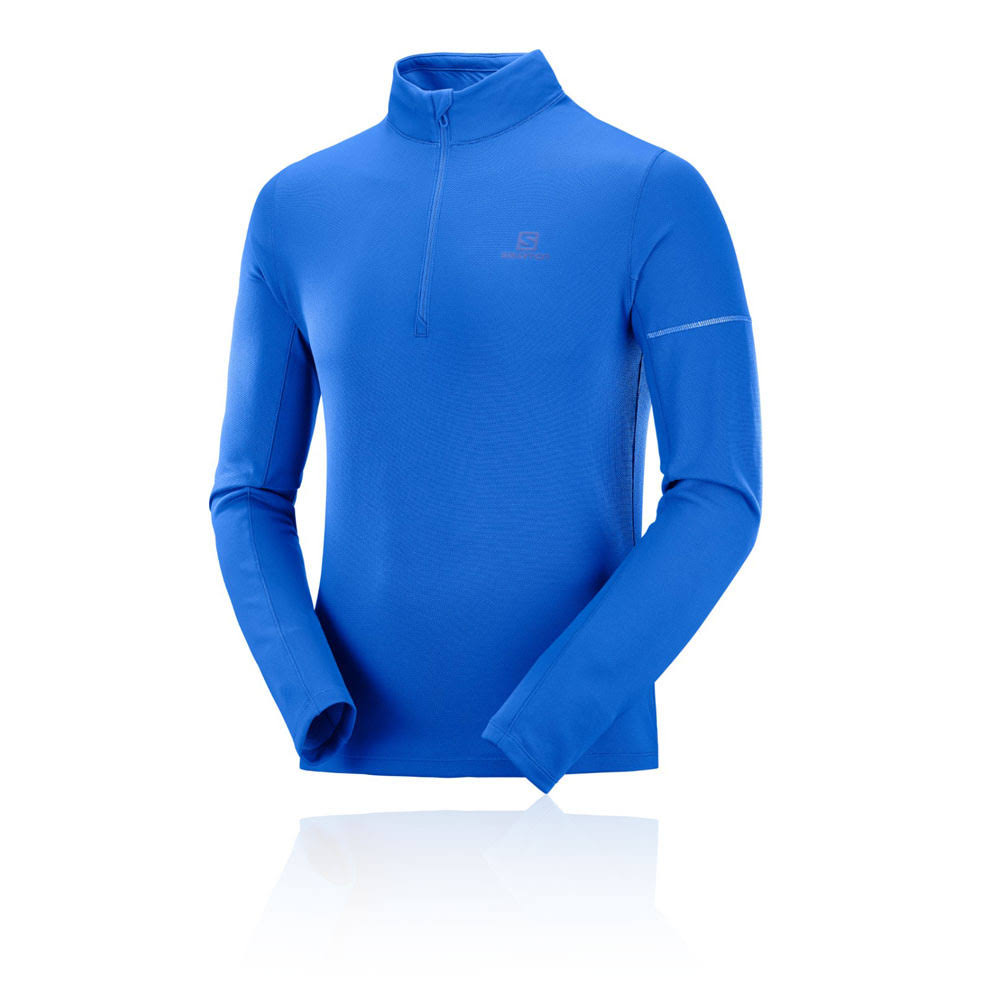 Xx Mid Nauticalblue Half Salomon Azul Agile Large Zip Blithe Top AftAHwYCqx