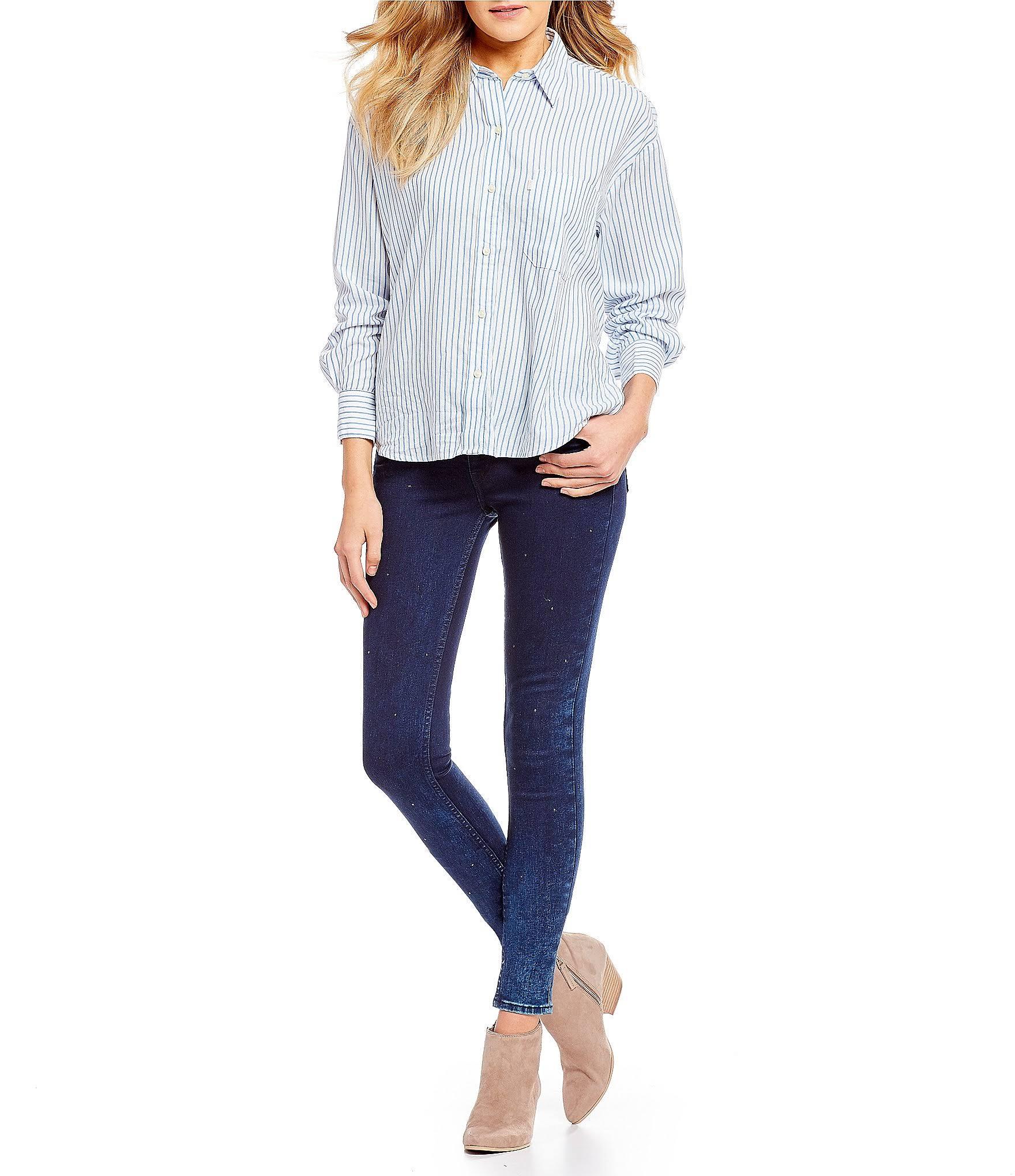 Blau 535 Jeans Skinny Super Levi's 27r aCvqv