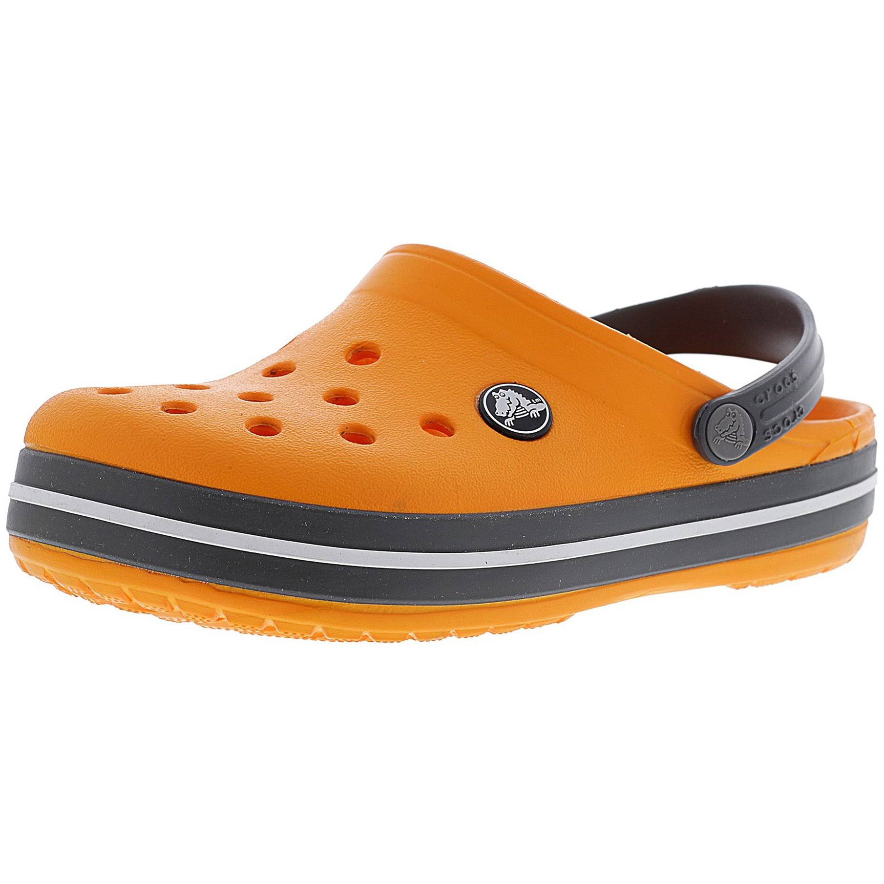 Orange Ltd Blazing Clogs Crocs Slate 8m Crocband Clog Grey Kids wpXwI6qxF