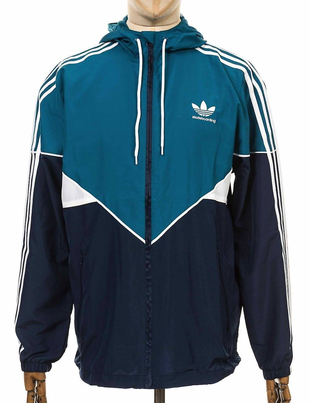 Men Talla Jacket Xl Premiere Blue Adidas Skateboarding xFqCTT