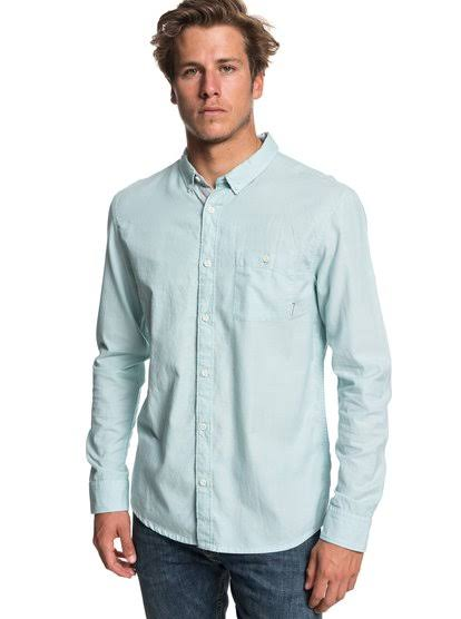Quiksilver Larga Waterfalls Hombre Para Camiseta Manga 1wUdqpSz