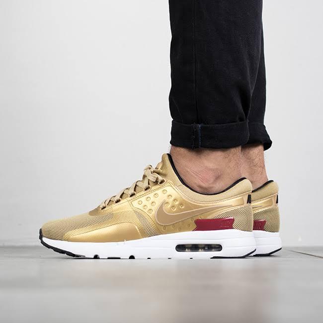 12 Schuhe Gold Nike Air Max University Größe Metallic 2017 Zero Rot Qs Box W FZqzwPxx