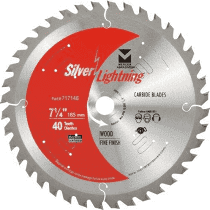 Mercer Industries 717146 40-Tooth ATB Carbide Wood Cutting Blade