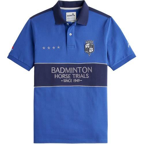 Joules Blue Offizielles Badminton poloshirt Deep Medium gzgqHrY