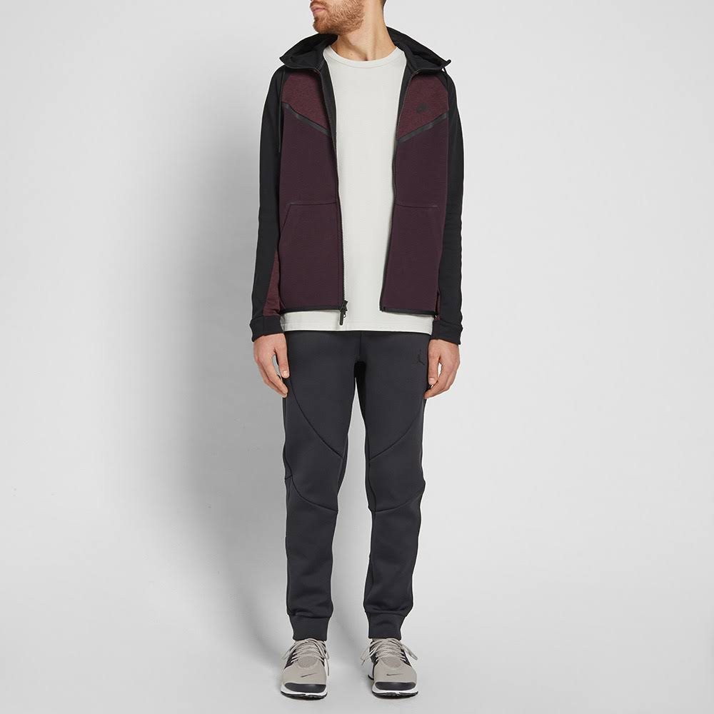 Windrunner Sportswear Fleece Lila Reißverschluss Nike Männer Durchgehendem Mit Hoodie Tech tRwtpqT