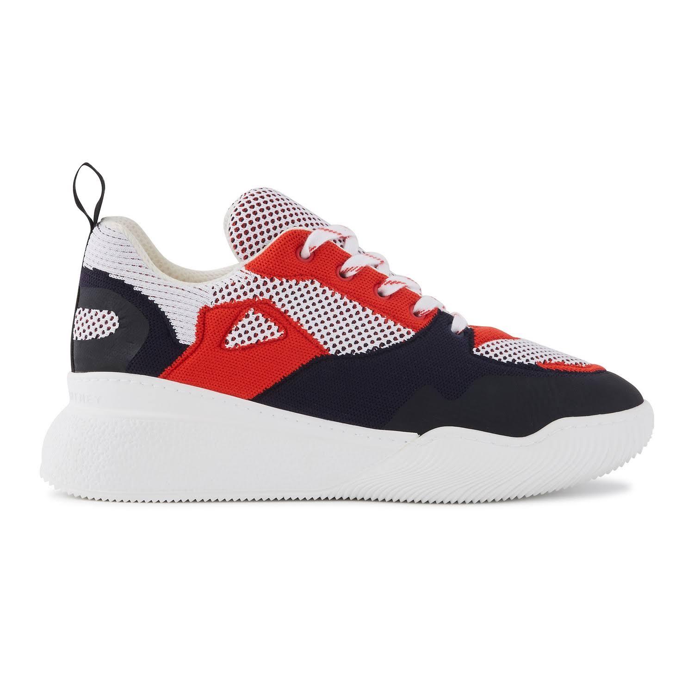 Stella McCartney Loop sneakers 8461 - M.Wht-Red-Blu/Blk/Bg